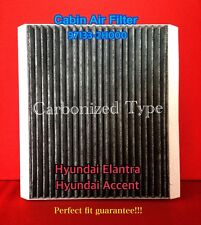 C35660 CHARCOAL CARBONIZED AC CABIN AIR FILTER for Accent Elantra / Forte 49377