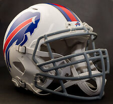 BUFFALO BILLS NFL Authentic GAMEDAY Football Helmet w/ S3BD-SP Facemask