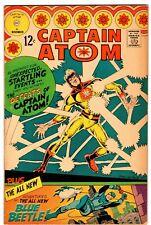 CAPTAIN ATOM #83  1st BLUE BEETLE (Ted Kord)!   STEVE DITKO ART!  F+ (6.5)  1966