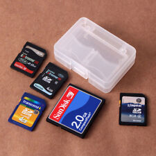 New 1CF 4SD Card Memory Card Protecter Box Storage Hard Plastic Case Holder