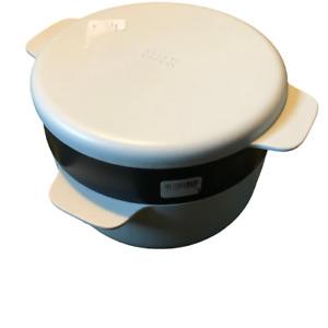 Joseph Joseph 3 pc Plastic Microwaveable Steamer Bowl 2L/2.1Qt