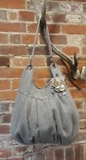 Accessorize Embellished Tweed Tote Bag Handbag