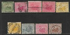 WESTERN AUSTRALIA Interesting Early Used Issues Selection - SWANS! (Sep 408)