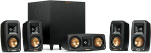 Klipsch Reference Theater Pack 5.1 Surround System Home Theater - Brand New