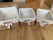 Decorative Wicker Storage Boxes