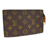 LOUIS VUITTON BUCKET PM PURSE ATTACHED POUCH PURSE MONOGRAM VI0011 A53433