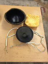 """Nsm Es-V Solid Gold jukebox 8"""" midrange speaker with shell and foam"""