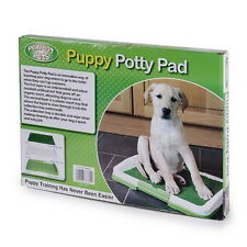 Puppy Dog Pet House Potty Training Pee Pad Mat Tray Grass Toilet Indoors ZX