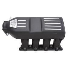 Edelbrock Intake Manifold 7180; Victor II High Rise Black Aluminum for Ford 5.0L