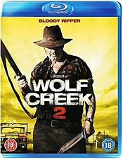 Wolf Creek 2 Blu Ray John Jarrett Ryan Corr Greg McLean UK Release New Sealed R2