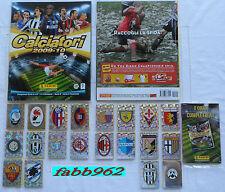 Calciatori Panini 2009/2010/10 Album vuoto+set completo+aggiornamenti+serie V
