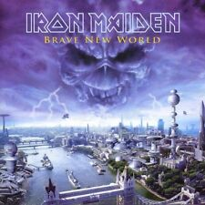 "IRON MAIDEN "" BRAVE NEW WORLD"" CD NEUWARE!!!!!!!!!"
