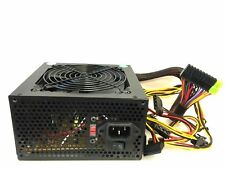 450 Watt 450W ATX Power Supply SATA Single 120mm fans Silent for Intel AMD Unit