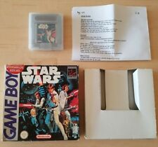 NINTENDO GAME BOY - STAR WARS BOX + GAME GAMEBOY ( DMG-WS-EUR )
