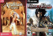 arabian nights & prince of persia special edition   (3 prince of persia games)