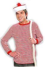 Ringelshirt Ringelpulli Ringel T-Shirt Clown Matrose Hemd gestreift Seemann
