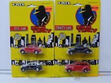 Ertl Dick Tracy Cars(Set Of 4) Police, Tess, Tracy'S, Itchy'S-New scale 1/64