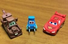 Disney Pixar Cars 2 Eraser Buddies Set of 3 New