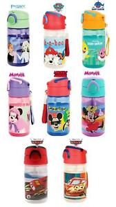 Favorite Hero Cartoon Character Drinking 350ML Water Bottle With Built in Straw