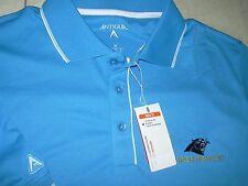 Antigua Men's Carolina Panthers Panther Blue/White Elite Polo