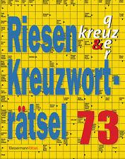 Eberhard Krüger - Riesen-Kreuzworträtsel 73