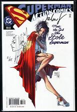 Action Comics #813 Original Supergirl Sketch signed talent Caldwell + COA Turner