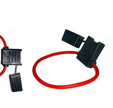 KFZ LKW Sicherungshalter MAXI Flachsicherung Halter 4,8 mm² Kabel