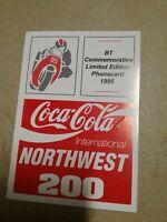 TK Telefonkarten Phonecard Telekom folder 5 units   cards BT England Coca Cola
