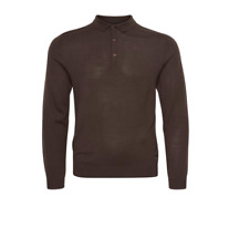 Matinique Klint Polo a maniche lunghe lana/Pacciame-Extra Large SRP £ 89.95