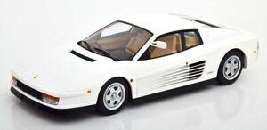 Ferrari Testarossa white Monospeccio US-Version 1984 Miami Vice échelle 1/18
