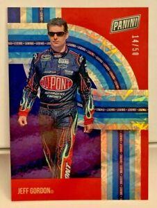 Jeff Gordon 2021 Panini The National Legends FIREWORKS Holo-Foil #'d 14/50