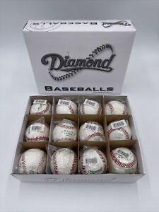 Diamond DOL-1 Official League Baseball High Seam Baseball - 1 Dozen