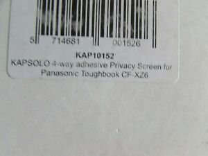 Kapsolo  secret 4 way adhesive privacy screen for panasonic toughbook cf-xz6