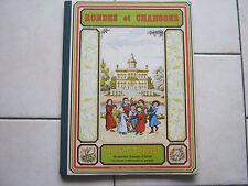 Album RONDES et CHANSONS , images d'épinal