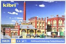 """Kibri 39826 ( 9826 ) H0 - Kühlhaus/ Anlieferung """" Feldschlösschen """" NEU & OvP"""