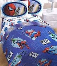 TWIN - Marvel Comics - Spider-man Spiderman Spider Sense SHEET & COMFORTER SET