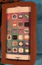 Brown Cell Phone Case With Long Strap