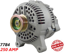 250 AMP 7784 Alternator Ford Lincoln Croen Vic Town Car High Output Performance