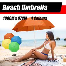 Adjustable Folding Outdoor Beach Umbrella Sun Shade Outdoor Protection 180CM