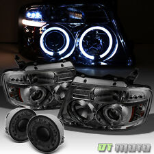 Fits Smoke 2006-2008 F150 Pick Up Led Headlights + Projector Fog Lamps w/ Switch