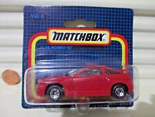 Matchbox Rare German Issue 1991 MB15H/6G Red ALFA ROMEO SZ New in C9 BubblePack