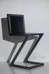 Metal Zig Zag Chair - Gerrit Rietveld Copy