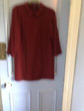 APC Tunic Dress With Peter Pan Collar Size L