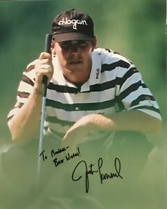 JUSTIN LEONARD Signed Autographed 8x10 Photo..GOLF Legend