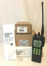Harris P7270 P7200 Series P25 700/800Mhz Radio Ecp Otar Aes Des with Accessories