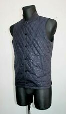 G-STAR RAW - A CROTCH VARSITY Men's Quilted Vest Casual Dark Navy Size S