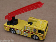 2014 Matchbox 2006 FIRE ENGINE 72/120 MBX Heroic Rescue LOOSE Yellow