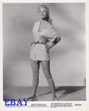 Virginia mayo busty leggy barefoot VINTAGE Photo Pearl Of The South Pacific