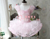 Girls Dance Wear Ballet Tutu Dress Skate Dress Party Dress 3 4 5 6 7 Years UK