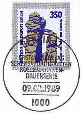 Berlin 1989: Externsteine Bad Meinberg Nr. 835 mit  Ersttags-Sonderstempel! 1A!